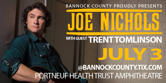 Joe Nichols at Portneuf Health Trust Amphitheatre