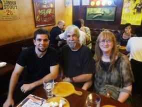 Pedro Henrique, Bernard Shihan and Francine Shihan from Canada in Japan, 2013