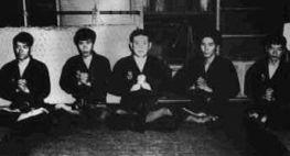 Hatsumi Sensei e Estudantes Japoneses: Shu In