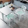 inca staplingsbar stol cafémöbler restaurangmöbler limegrön