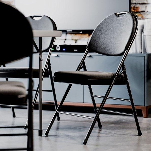 fällbar klappstol konferensstol toronto fällbart runt konferensbord style