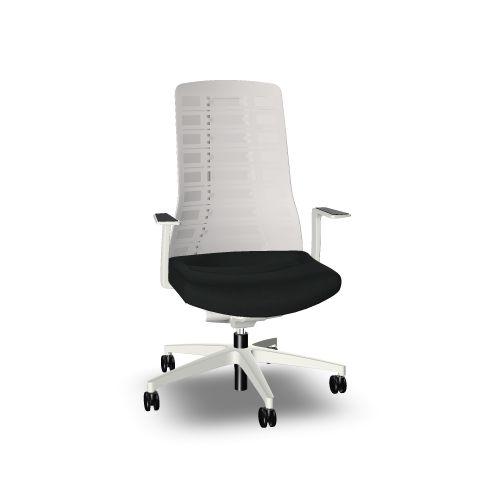 vit ergonomisk kontorsstol pureis3 interstuhl
