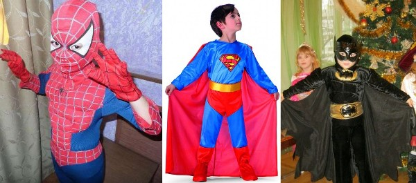 make a boy a superhero costume for the new year