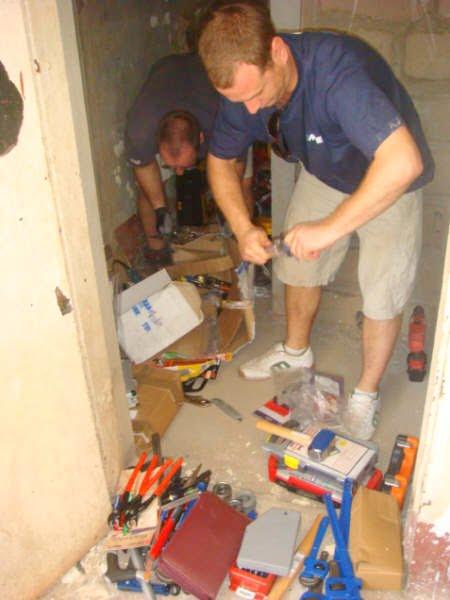 Mark making progress on the grand project
