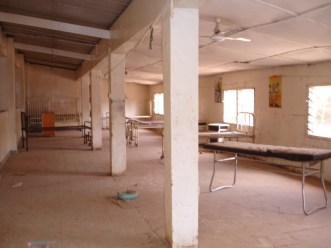 Children's ward prior to conversion to the new female ward