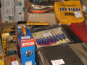 Part of the vast array of specialist equipment
