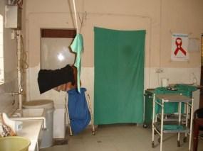 Existing sluice, sterilising room & staff office...needing renovation!