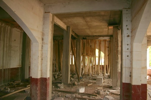 This was to become the ground floor, multi-function room.