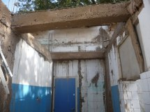 Scrub room redevelopment very much in progress!