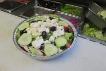 Greek salad to go