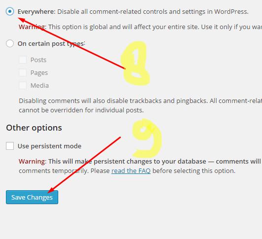 Cara Atasi Komentar Spam di WordPress
