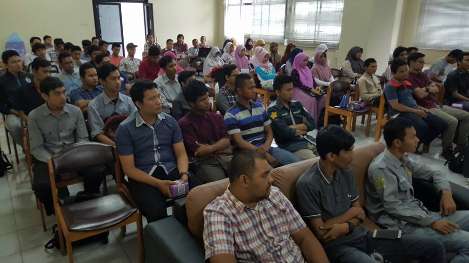 Seminat Internet Marketing di Perpustkaan Universitas Syiah Kuala