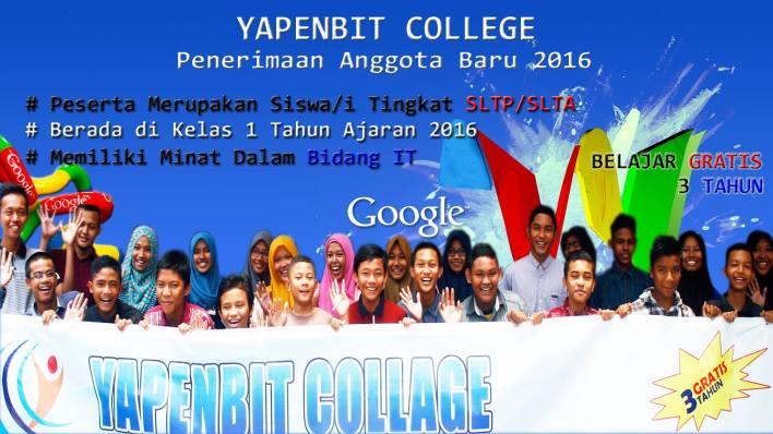 Pengumuman Test Minat dan Bakat Peserta Yapenbit College 2016