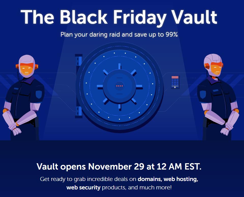 Black Friday 2019 Deals, Domain TLD$ 0.98 dan Diskon Hosting Hingga 98%