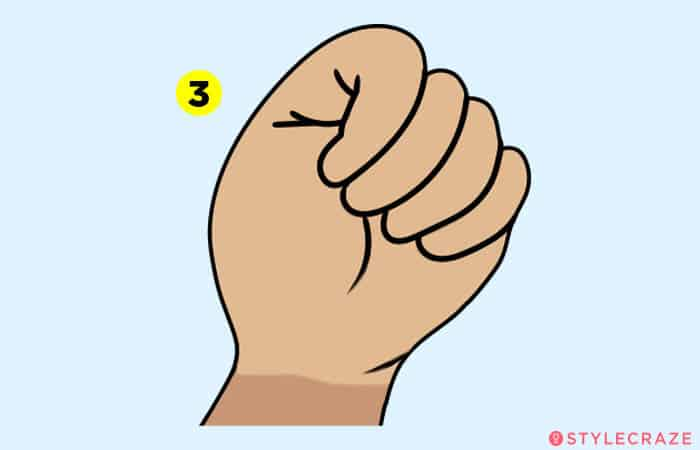What does your fist say about your personality?