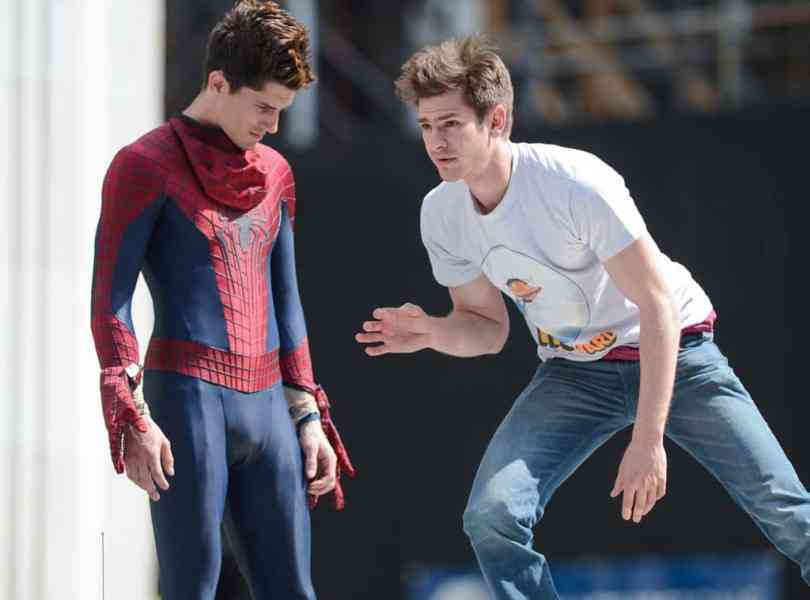Character: Spiderman; Actor: Andrew Garfield, Stunt Double: William Spencer