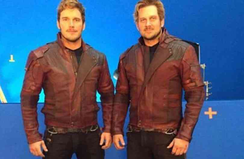 Character: Star-Lord; Actor: Chris Pratt, Stunt Double: Tony McFarr