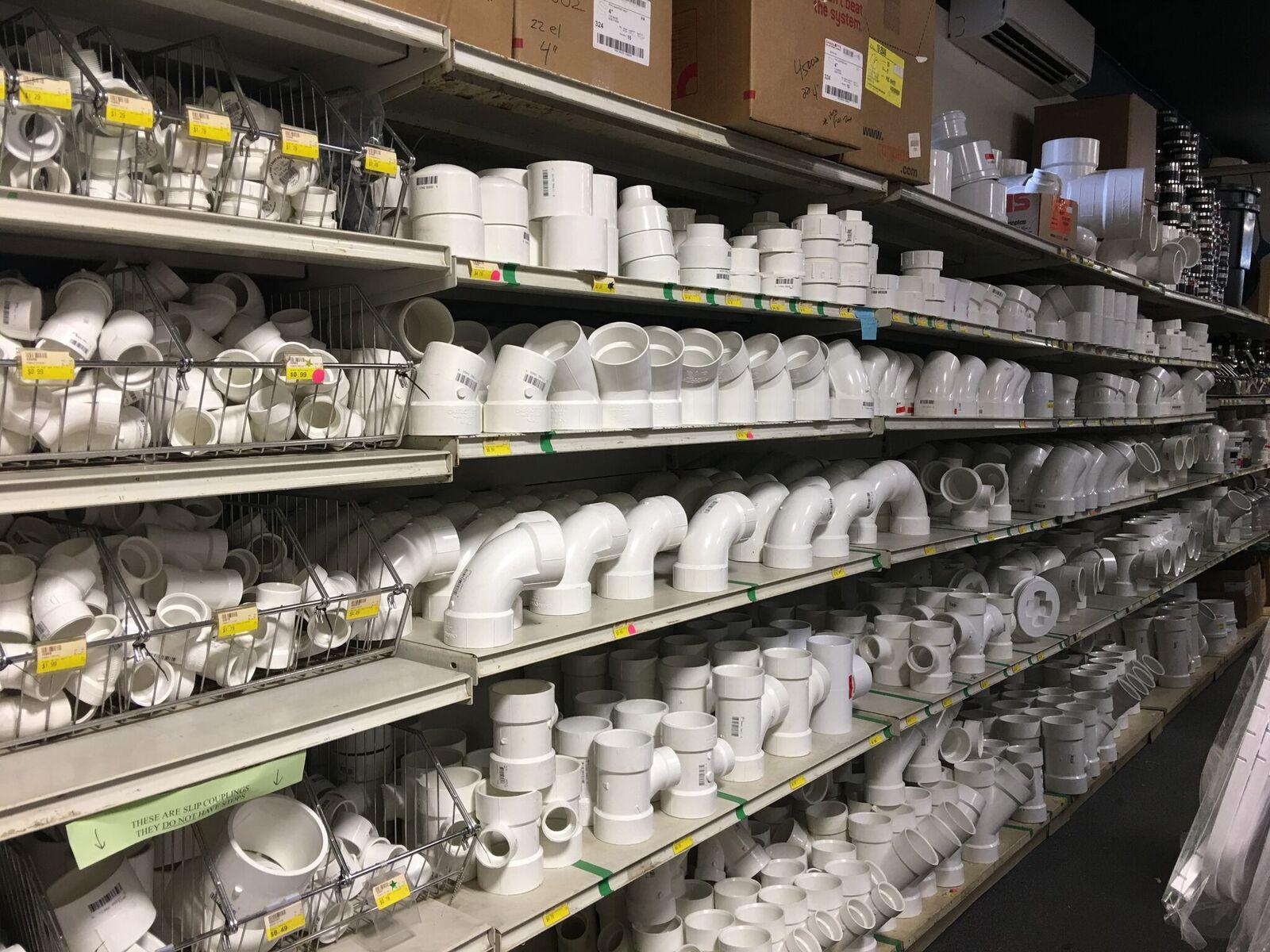 plumbing supplies pvc fittings