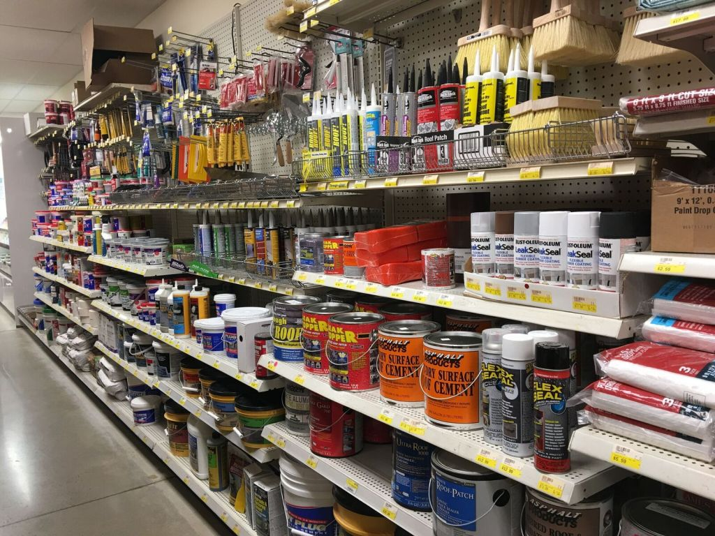 supplies for painting drop cloths paint brushes