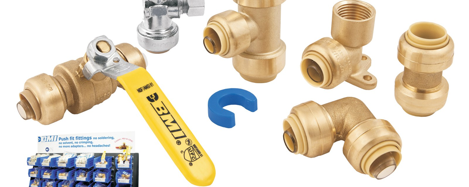 BMI Push Fit Fittings Wider
