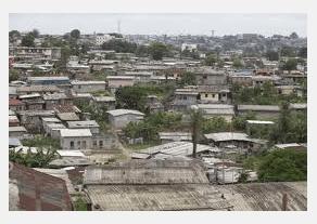 Quartier populaire de Libreville