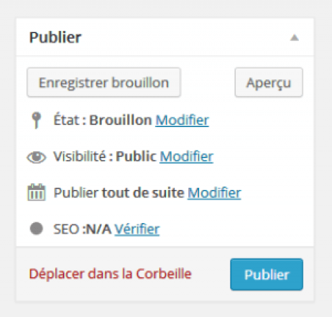 Programmer une publication automatique wordpress