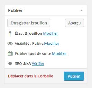 publication automatique wordpress