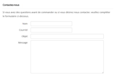 Créer un formulaire de contact dans WordPress