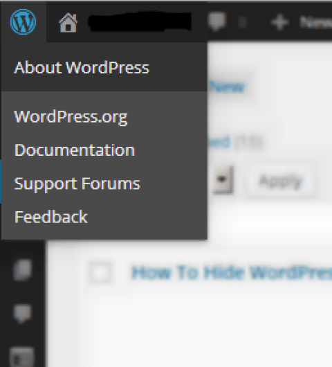 Personnaliser son administration wordpress