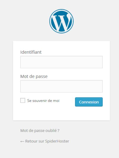 Changer le lien du logo wordpress et la phrase de survol