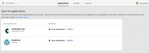 Publier automatiquement sur Google+ en mode public