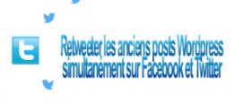 Retweeter, republier sur twitter et Facebook