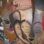 Peinture du Gabon
