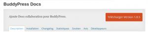 Plugins WordPress Buddypress Documents