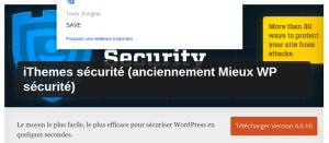 Plugins wordpress Buddypress sécurité
