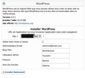Comment creer un site web avec WordPress part 3