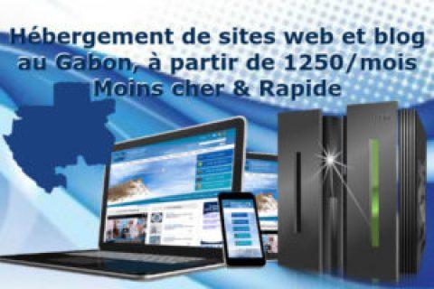 Hébergement web au Gabon moins cher et rapide