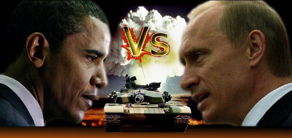 Russie vs USA - Poutine vs Obama