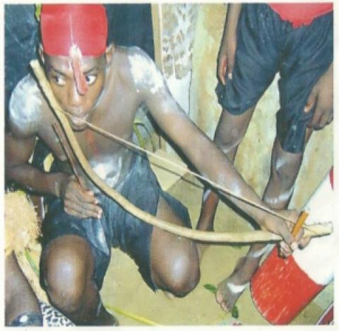 Mungongo: arc musical du Gabon traditionnel