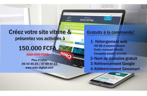Créer un site web au Gabon avec une agence professionnelle