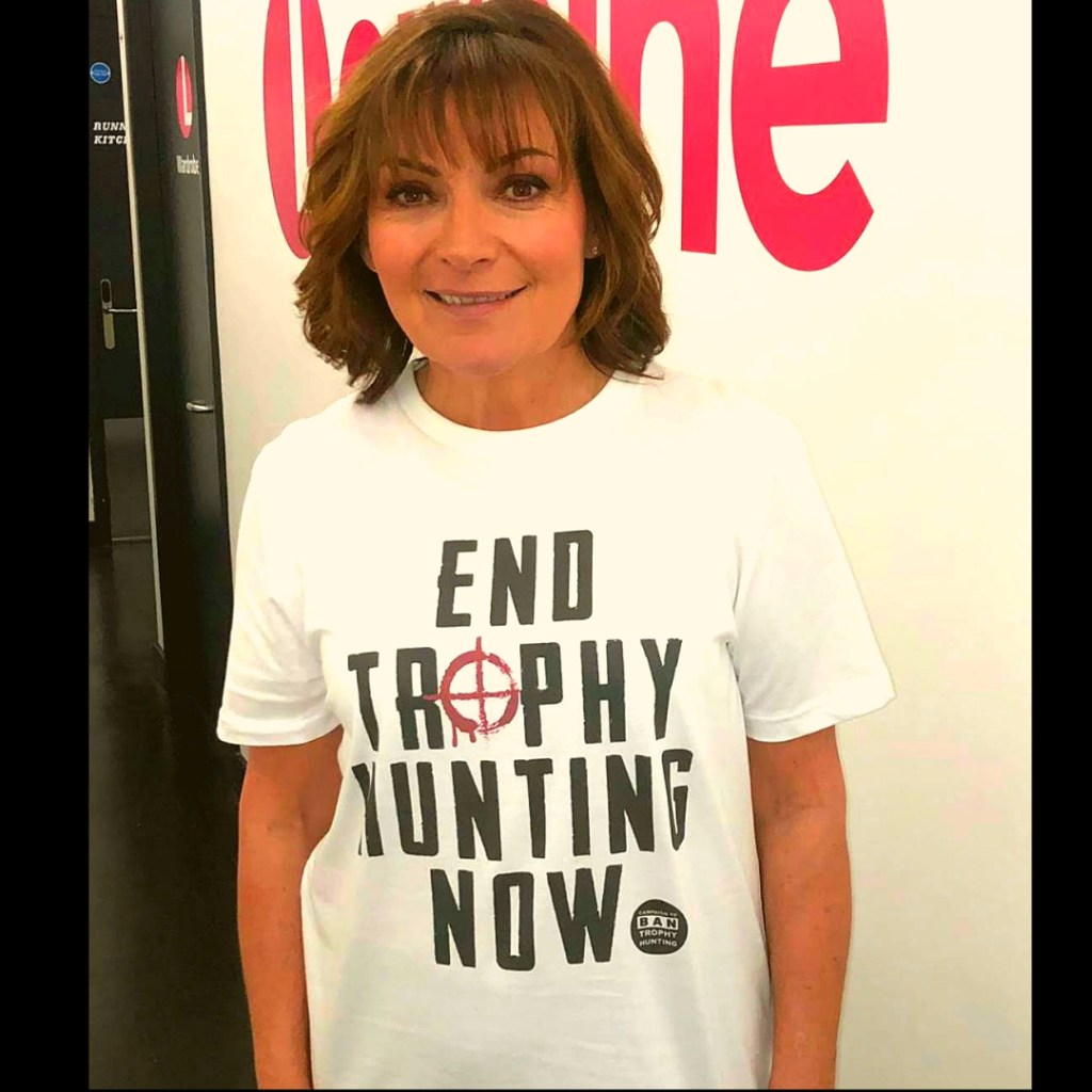 Lorraine Kelly outside the TV Studio