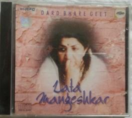 Dard Bhare Geet Lata Mangeshkar Hindi Audio CD