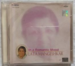 In a Romantic Mood Lata Mangeshkar Hindi Audio CD