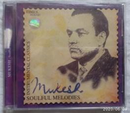 Mukesh Soulful Melodies Hindi Audio CD
