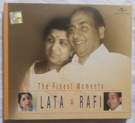 The Finest Moments Lata & Rafi Hindi Audio CD