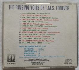 The Ringing Voice Of T.M.S. Forever Tamil Audio CD