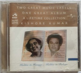Two Great Music Labels One Great Album Alifetime Collection Kishore Kumar Hindi Audio CD