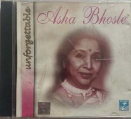 Unforgettable Asha Bhosle Hindi Audio CD