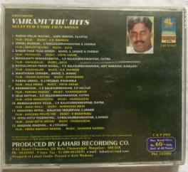 Vairamuthu Hits Tamil Audio CD