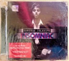 Enrique Iglesias Insomniac English Audio Cd